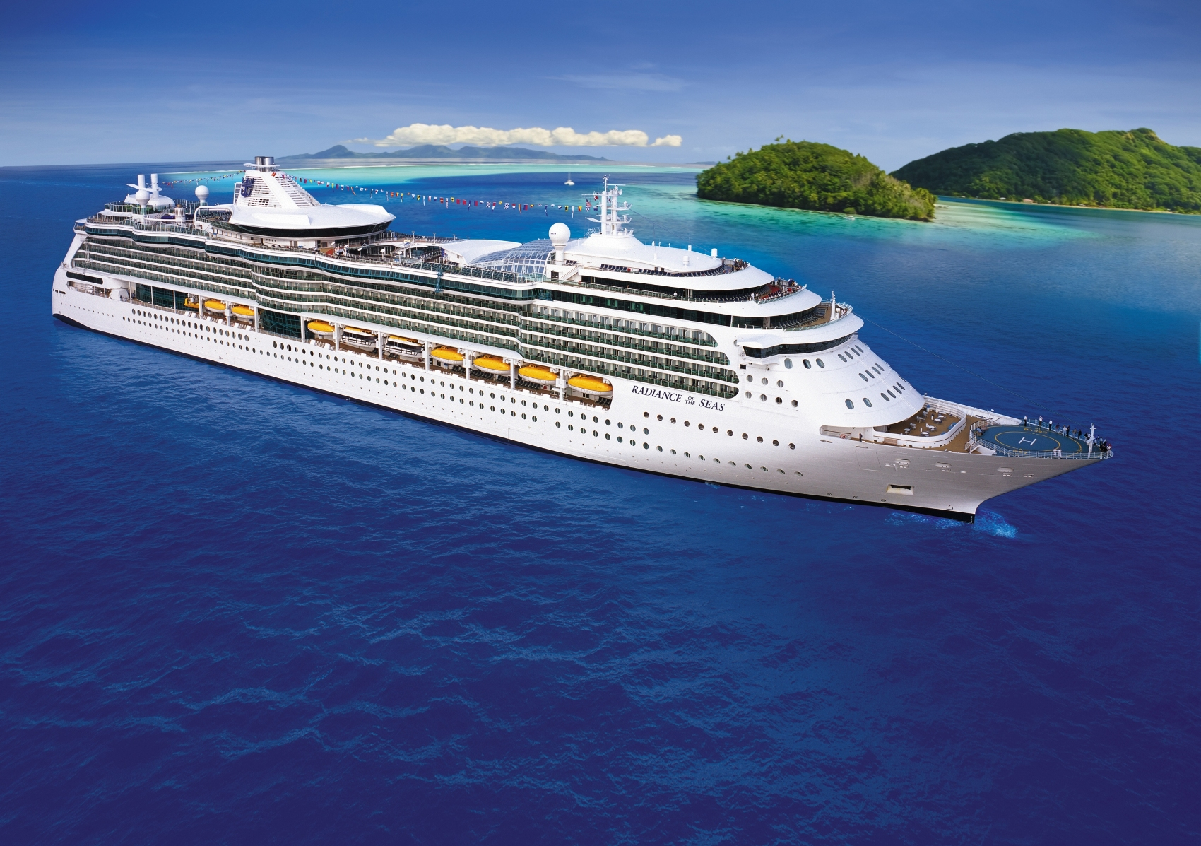 NEW GENERATION OASISCLASS SHIP By John Pond  Cruise And